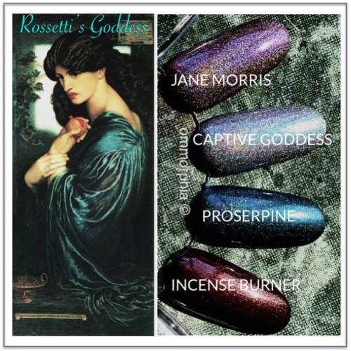 Rossetti's Goddess